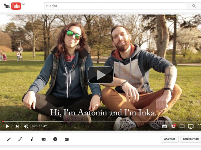 Tony's Alternative Guide to Prague indiegogo Campaign Video