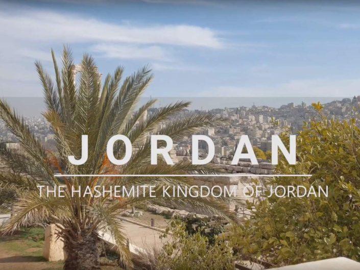 Jordánsko – video z cest, točeno mobilem